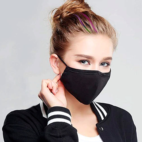 Washable Cotton Face Masks Without Valve