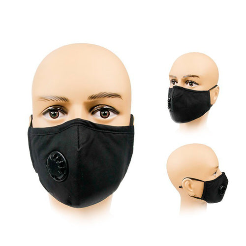 Washable Cotton Face Masks With Valve