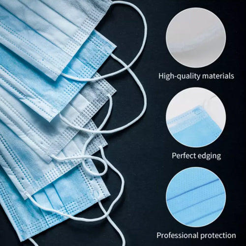 3Ply Non-Medical Disposable Face Mask (Pack of 50)
