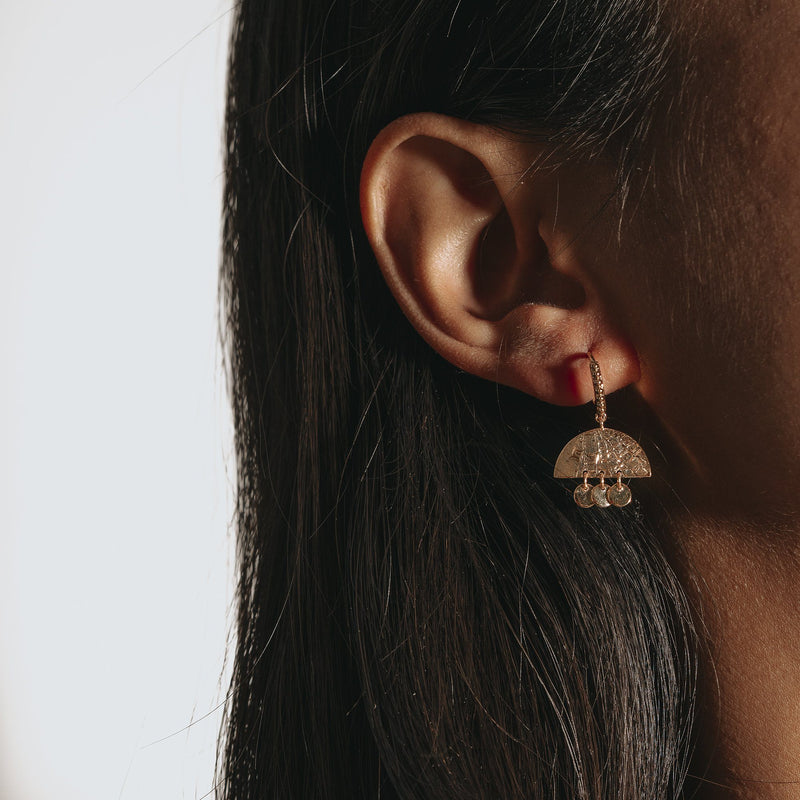 interesting dangle earrings