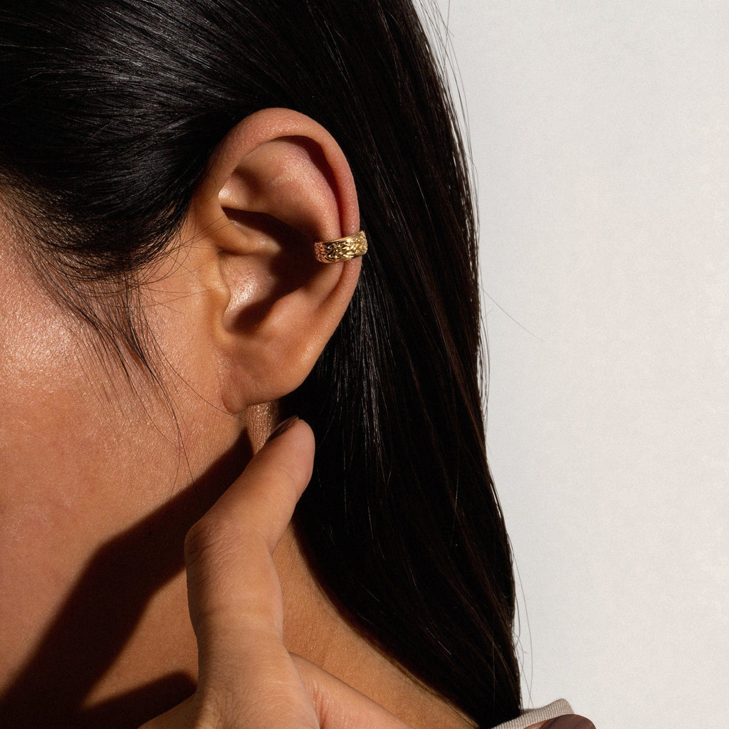 CHUBBY | Braided Ear Cuff