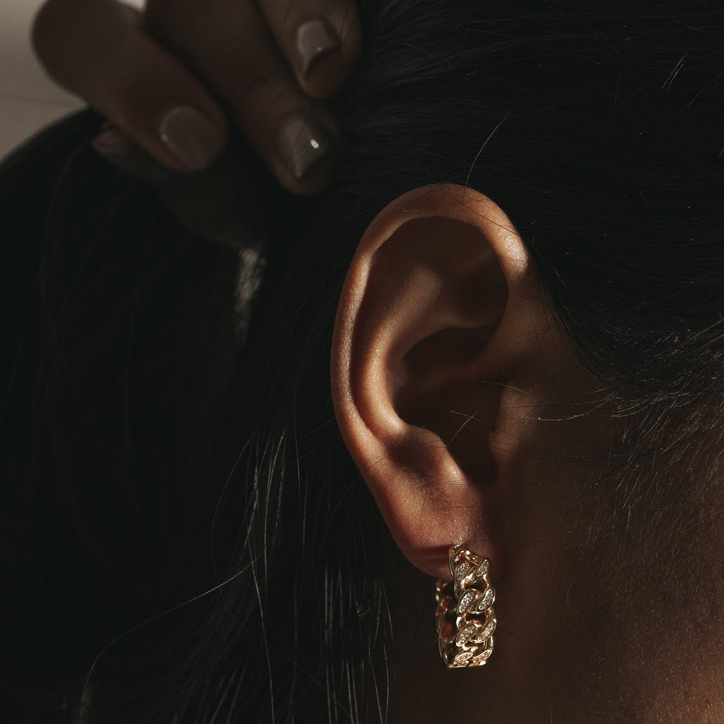 Zircon studded Earring