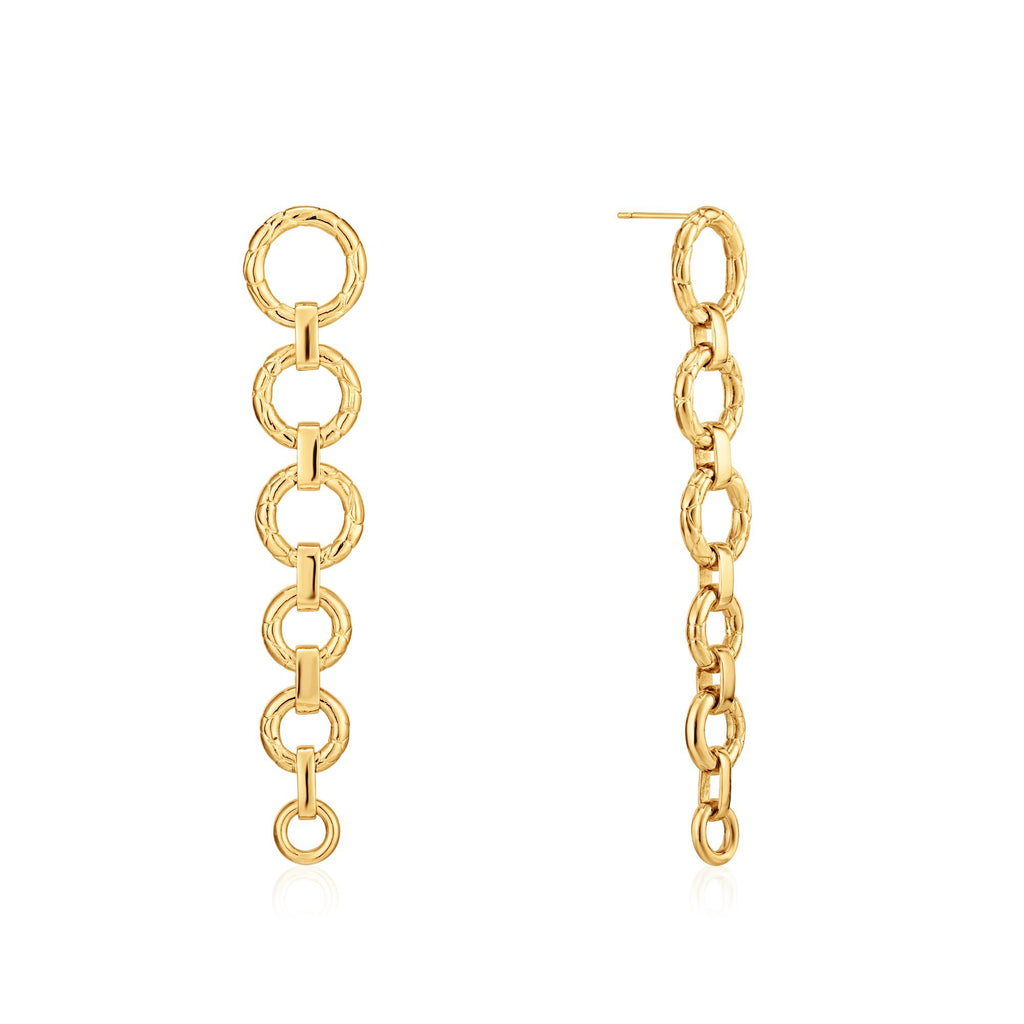SIDEWINDER | Link Drop Earrings