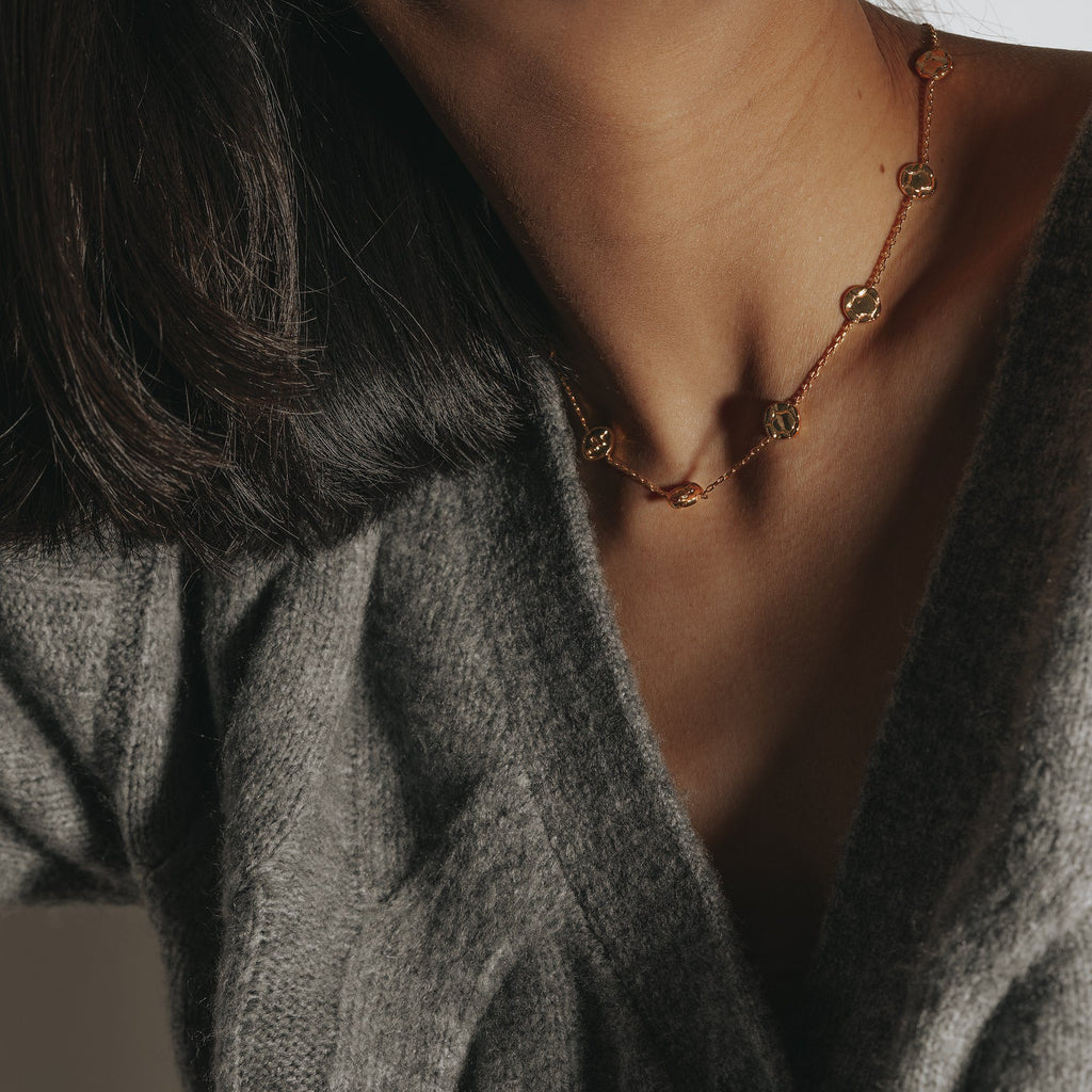 LORA | Serpent Coin Necklace