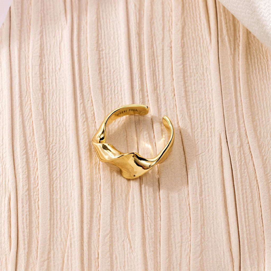 TWIRL |  Twisted Open Ring