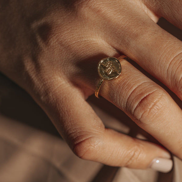 LORA | Serpent Coin Ring