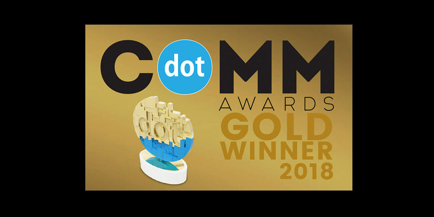 Bookstonian Earns Gold dotComm Award
