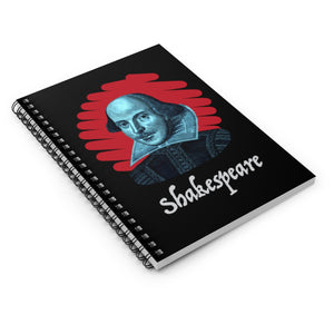Shakespeare Spiral Ruled Journal