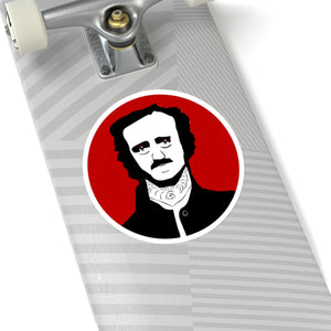 Poe Portrait Sticker
