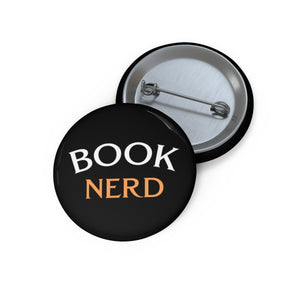 Book Nerd Button
