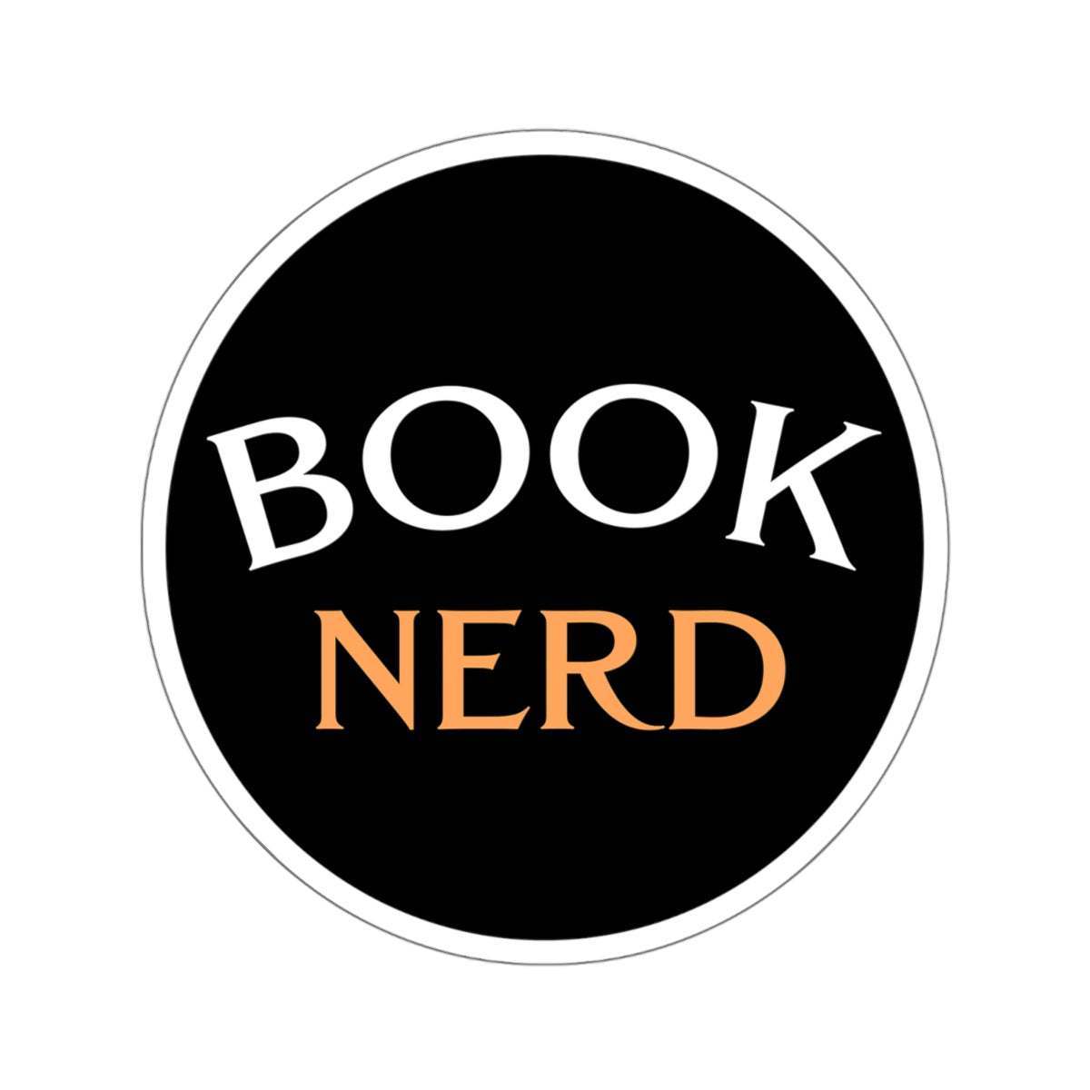 Book Nerd Sticker