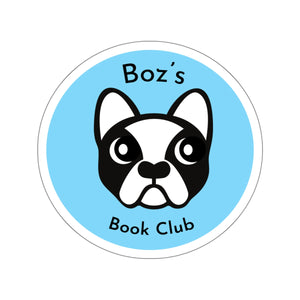 Boz's Book Club Sticker