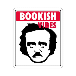 Poe Bookish Vibes Yinyl Sticker
