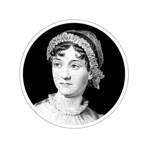 Jane Austen Portrait Sticker