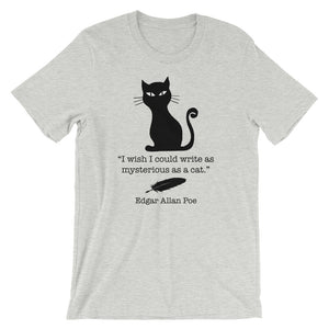 Poe Black Cat Men/Unisex Tee