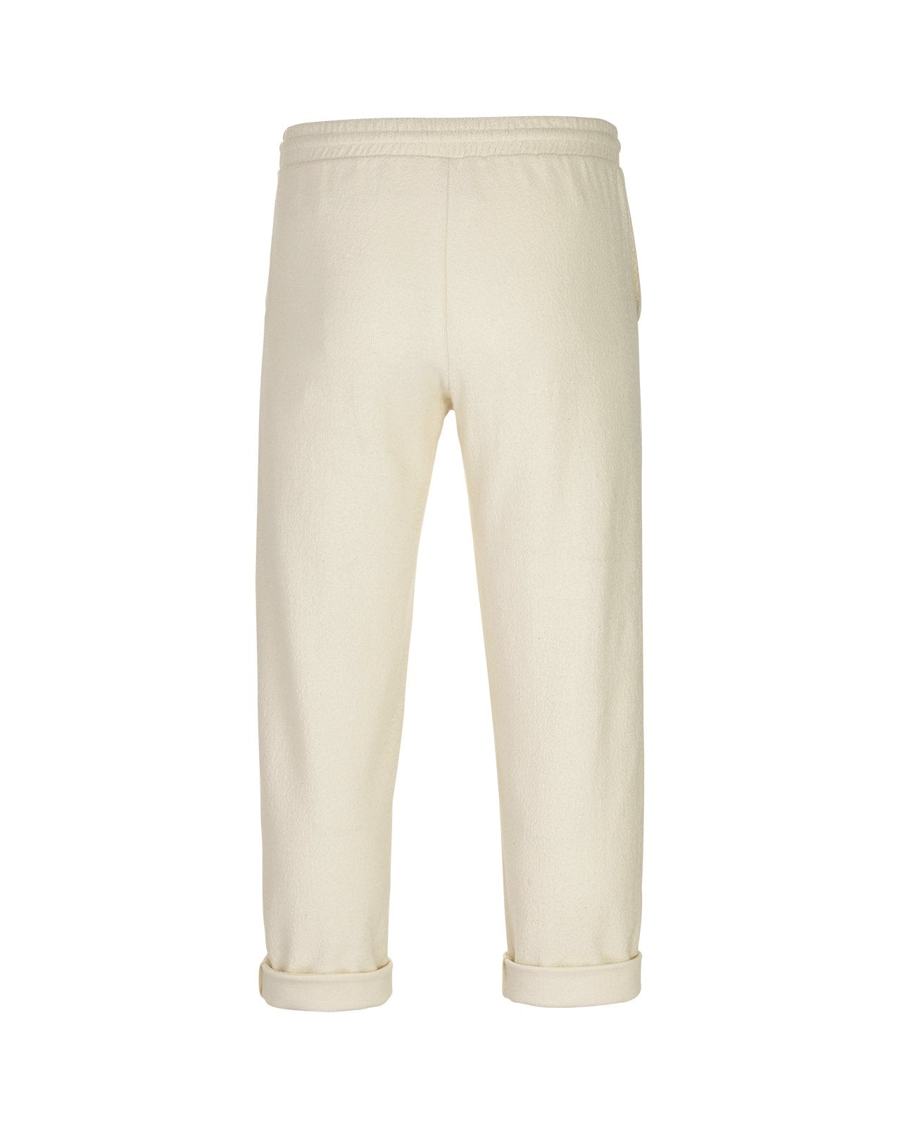 Textured Pants – Beige
