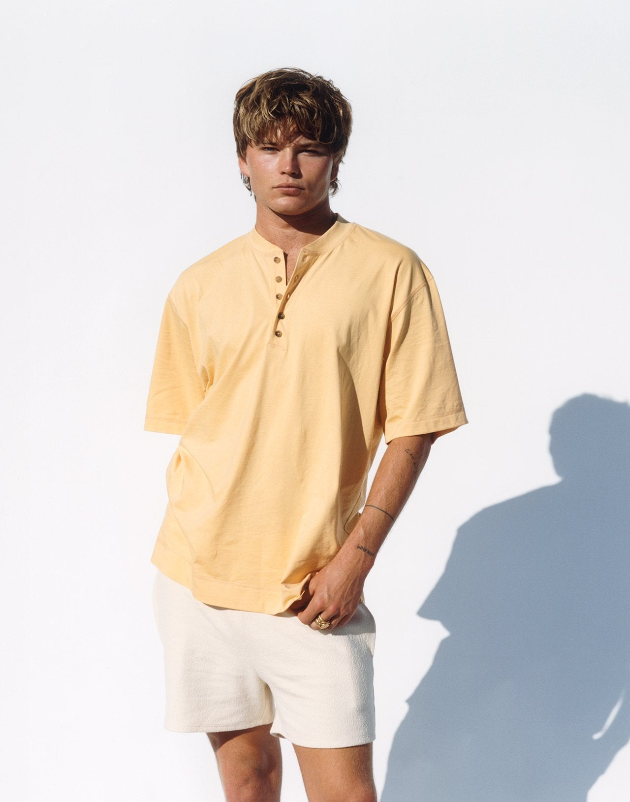 Painter Shirt – Yellow