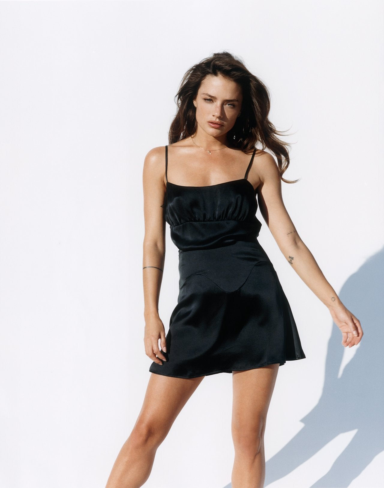 Silk Cami - Black