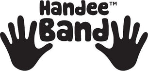 Fitness Band Exercises for Kids: Handee Band Fitness Band has handprints on each band so kids know how to do each exercise.