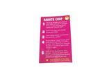 Handee Band Exercise Cards