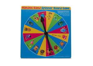Handee Band Spinner Board Game