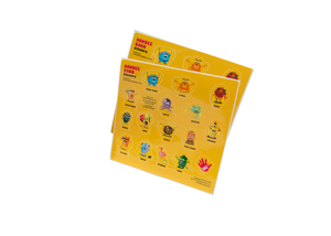 Meet the Gang Sticker Sheets