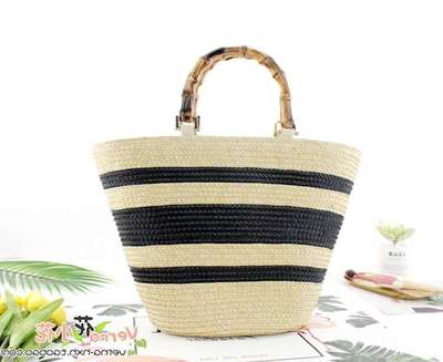Mia Bamboo Bucket Bag