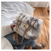 Bronwyn Faux Fur Shoulder Bag