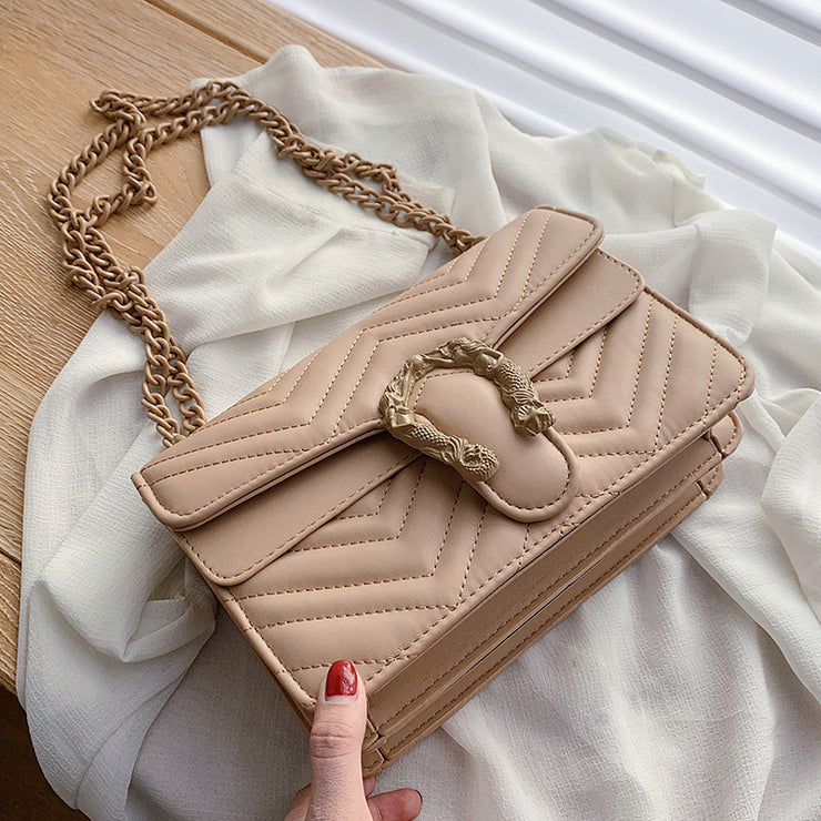 Cheree Neutral Shoulder Bag