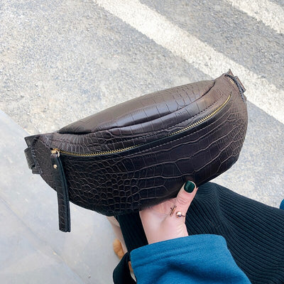 Sadie Crocodile Belt Bag