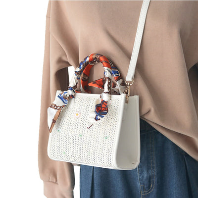 Jacquelyn Straw Crossbody