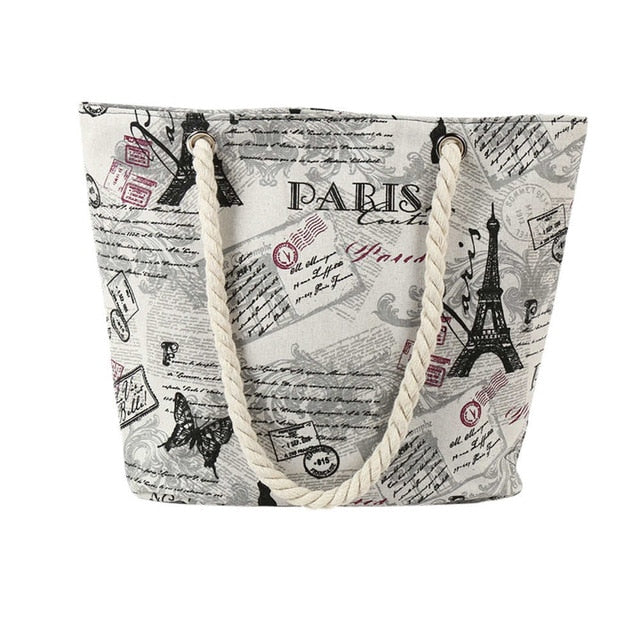 Blaise Casual French Tote Bag