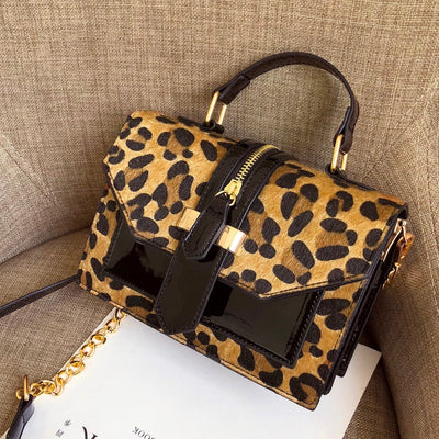 Margot Leopard Crossbody Bag