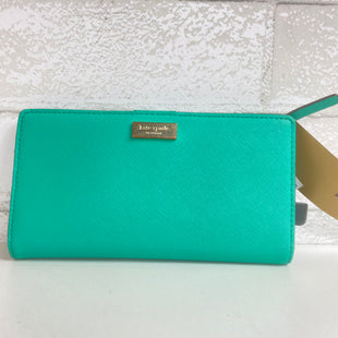 Primary Photo - BRAND: KATE SPADE STYLE: WALLET COLOR: GREEN SIZE: MEDIUM SKU: 159-159232-11271