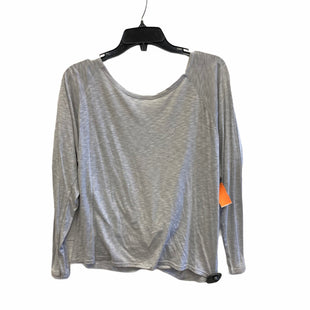 Primary Photo - BRAND: FABLETICS STYLE: ATHLETIC TOP COLOR: GREY SIZE: L SKU: 159-159254-2012