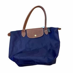 Primary Photo - BRAND: LONGCHAMP STYLE: HANDBAG DESIGNER COLOR: NAVY SIZE: MEDIUM AS-IS SKU: 159-159252-3600