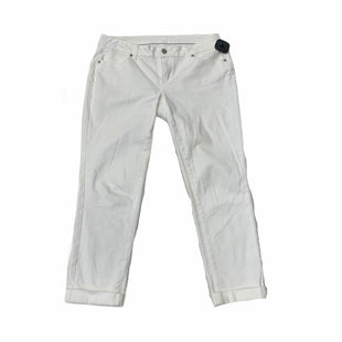 Primary Photo - BRAND: CROWN AND IVY STYLE: PANTS COLOR: WHITE SIZE: 6PETITE SKU: 159-159251-536