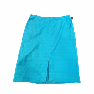 Primary Photo - BRAND: ANN TAYLOR LOFT STYLE: SKIRT COLOR: TEAL SIZE: 12 SKU: 159-159253-1378