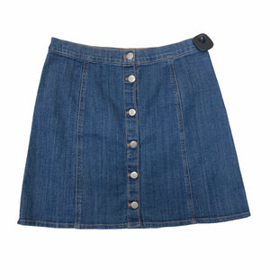 Primary Photo - BRAND: H&M STYLE: SKIRT COLOR: DENIM SIZE: M SKU: 159-159249-183