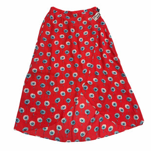 Primary Photo - BRAND: J CREW O STYLE: SKIRT COLOR: RED SIZE: XS SKU: 159-159192-13799