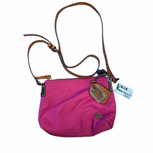 Primary Photo - BRAND: DOONEY AND BOURKE STYLE: HANDBAG DESIGNER COLOR: PINK SIZE: SMALL SKU: 159-15912-23244