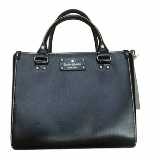 Primary Photo - BRAND: KATE SPADE STYLE: HANDBAG DESIGNER COLOR: BLACK SIZE: MEDIUM SKU: 159-159272-460