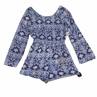 Primary Photo - BRAND: CHARLOTTE RUSSE STYLE: DRESS SHORT LONG SLEEVE COLOR: BLUE WHITE SIZE: S SKU: 159-159110-14636