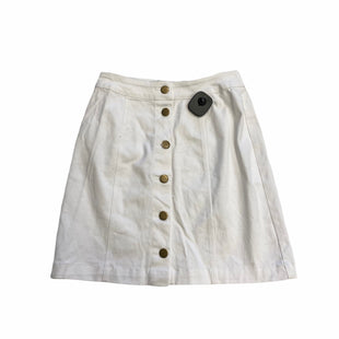 Primary Photo - BRAND: BOOHOO BOUTIQUE STYLE: SKIRT COLOR: WHITE SIZE: 4 SKU: 159-159240-1007