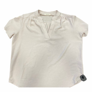 Primary Photo - BRAND: ENTRO STYLE: TOP SHORT SLEEVE COLOR: BEIGE SIZE: L SKU: 159-159201-15191