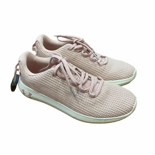 Primary Photo - BRAND: UNDER ARMOUR STYLE: SHOES ATHLETIC COLOR: PINK SIZE: 8 SKU: 159-159252-3214