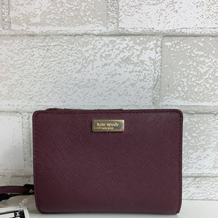 Primary Photo - BRAND: KATE SPADE STYLE: WALLET COLOR: PLUM SIZE: SMALL OTHER INFO: WEAR INSIDE AS IS SKU: 159-159251-3025