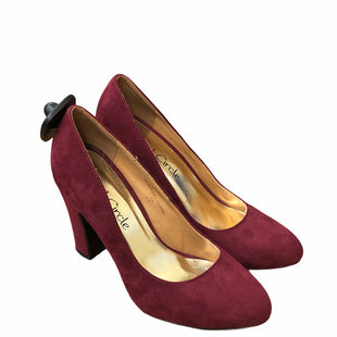 Primary Photo - BRAND:    CLOTHES MENTOR STYLE: SHOES HIGH HEEL COLOR: BURGUNDY SIZE: 5.5 OTHER INFO: RED CIRCLE - SKU: 159-159260-27