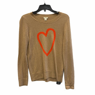 Primary Photo - BRAND: J CREW STYLE: SWEATER LIGHTWEIGHT COLOR: BROWN SIZE: S SKU: 159-159254-1466