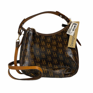 Primary Photo - BRAND: DOONEY AND BOURKE STYLE: HANDBAG DESIGNER COLOR: BROWN SIZE: MEDIUM SKU: 159-159252-3575